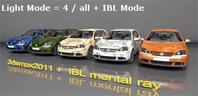 Light Mode all+IBL