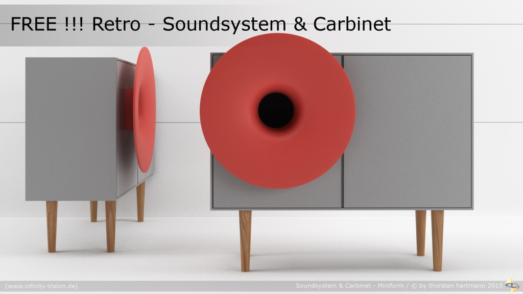 free_Soundsystem_and_Cabinet_Miniforms