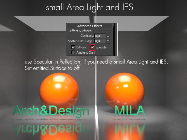 small Aera Light and IES