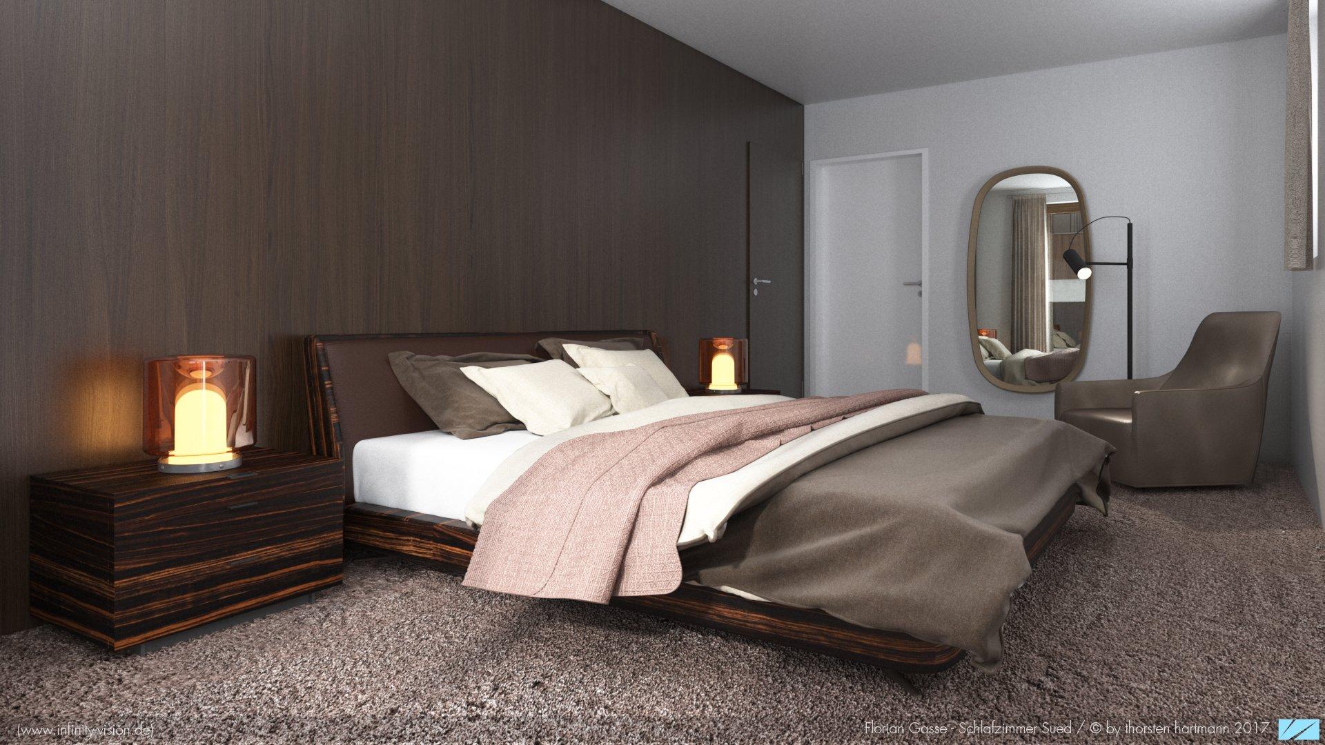 Florian Gasse / Schlafzimmer