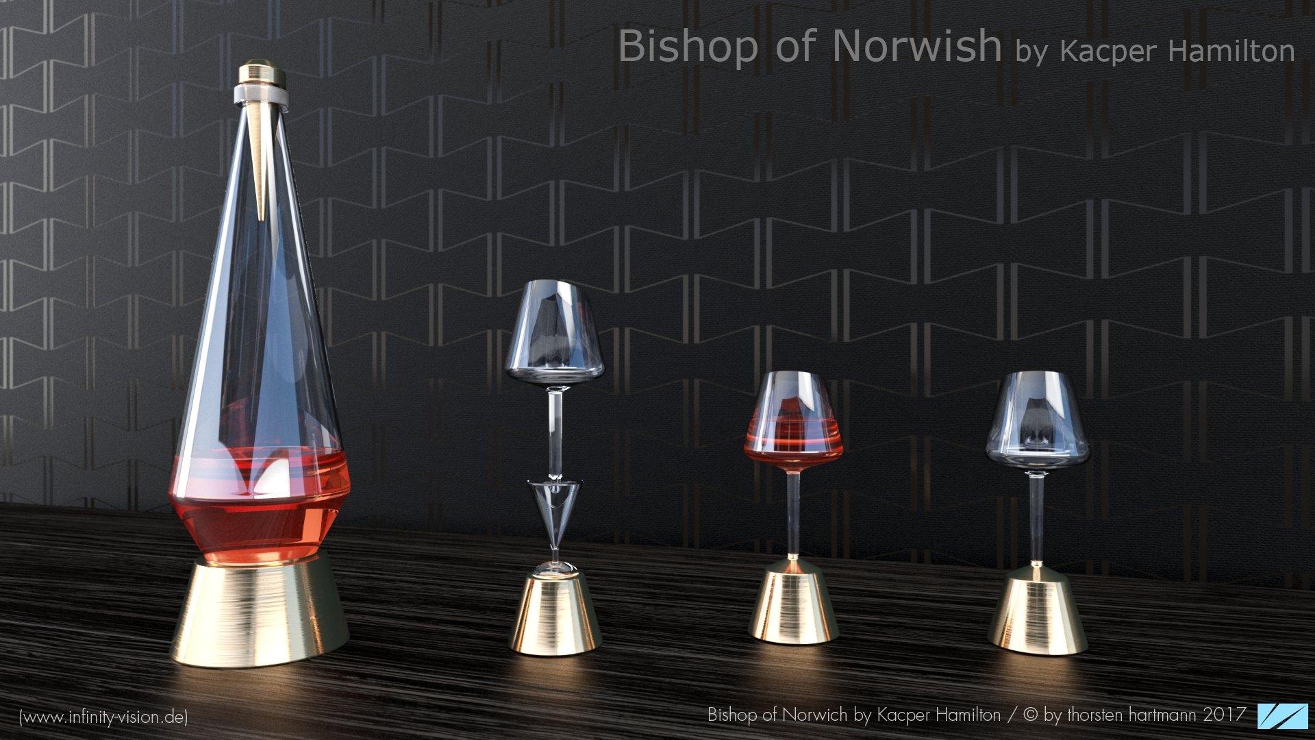 Bishop of Norwish by Kacper Hamilton