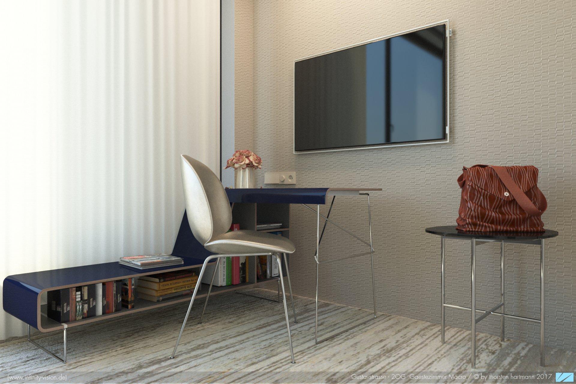 Gustavstrasse / Guest room macro