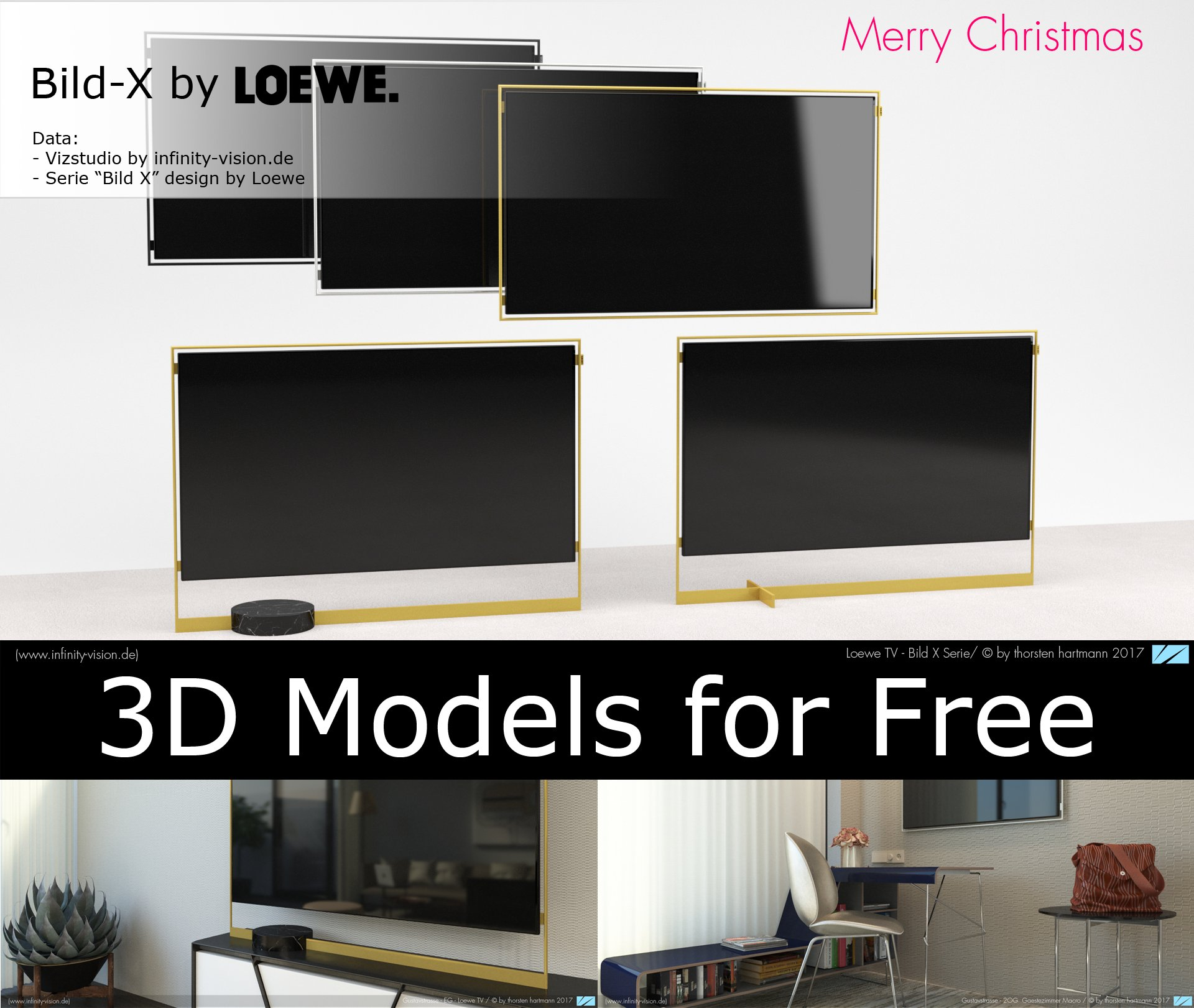 Lasvit Free 3D-Models copyrights by Infinity Vision